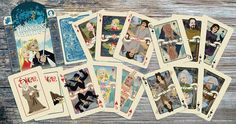 Princess Bride playing cards. I want some!