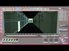 Building of a corridor with MoGraph and Camera Mapping tutorial #4 part 3 - YouTube