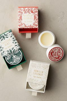 Mini + Merry Lip Balm | Gift idea | Stocking stuffer | Anthropologie | Gifts under $20
