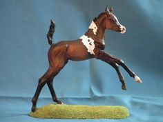Pearl , Arabian Filly Resin , sculpted by Brigitte Eberl , Repaint by Nina M.