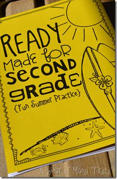 Ready for grade summer resources for kids. Excellent preparation, and students can work alone or independently without worrying about a language or daycare situation! End Of School Year, End Of Year, School Fun, School Days, School Stuff, Summer School Activities, Kid Activities, Teacher Resources, Reading Resources