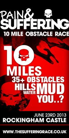 Spread The Suffering - Pain & Suffering 10 Mile Obstacle Race