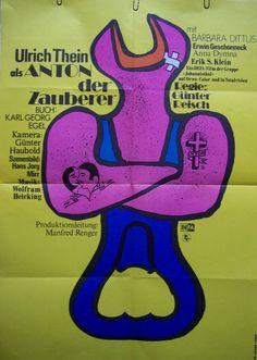 """""""Anton der Zauberer"""" (1977) Directed by Gunter Reisch East Germany"""