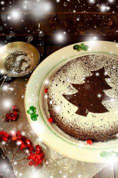 Vasilopita (Greek New Year's cake) - Flora Mykonos Supermarkets New Year's Cake, Self Rising Flour, Evaporated Milk, Yummy Cakes, Panna Cotta, Flora, Greek, Pudding, Sweets