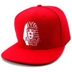 DG GOLD New Last Kings Snapback Hat Cap Red Sankeskin Leopard (Red-LK) ($11) ❤ liked on Polyvore