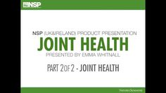 NSP UK & Ireland invites you to join Functional Nutrition Coach Emma Whitnall as she shares her expertise in the second part of the Joint Health training.  In part two find out about 2 more fantastic products, Calcium-Magnesium and Skeletal Strength, which are specifically designed to aid the structural system.