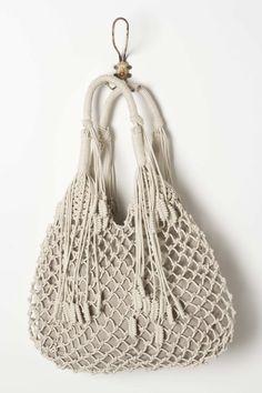 Monserat de Lucca's roomy, tasseled shoulder bag.