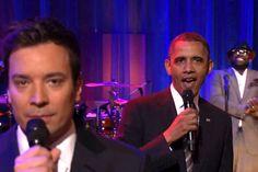 Barack Obama slow jams the news on Jimmy Fallon