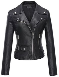 Special Offer: $39.01 amazon.com NOTE: PLEASE CHECK AND CONFIRM SOLD BY Taming AND Fulfilled by Amazon! Category: Outerwear Coat/ PU Leather Jacket/ Womens Jacket Style: Casual/ Fashion/ Classic/ Sexy Design: Inside Pocket/ Slant Pocket/ Motorcycle Jacket Fabric: PU Leather/ 100%...