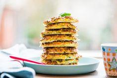 Schnelle Zucchini Bratlinge aus dem Ofen & Frühlingsfreude