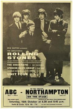 The Rolling Stones - Northampton; 16 October 1965