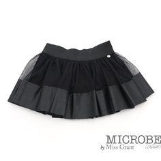 Юбка из искусственной кожи с тюлем by Grant | Юбки Kids Designer Clothes Девочка | Designer girls clothes Shop