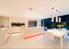 Modern kitchen in St John's Wood