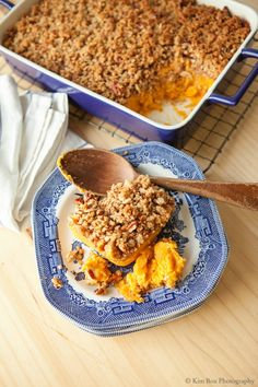 Mom's Sweet Potato Casserole with Pecan Praline Topping