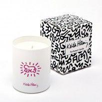 Bougie parfumée Keith Haring senteur fleurie