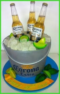 Therefore you require a surprise and also your ingesting companion adores booze?, this is your lucky day along with beer lovers are pretty easy shop. 40th Cake, Dad Cake, Cupcakes, Cupcake Cakes, Corona Cake, Corona Beer, Beer Bottle Cake, Marine Cake, Realistic Cakes