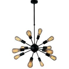 You'll love the Vintage Metal Hanging Ceiling 12-Light Sputnik Chandelier at AllModern - With Great Deals on modern Lighting products and Free Shipping on most stuff, even the big stuff.