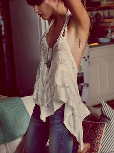 Free People FP X Flutterby Halter http://www.freepeople.co.uk/whats-new/fp-x-flutterby-halter/