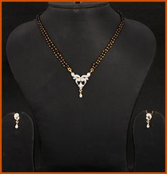 Small and simple mangalsutra.