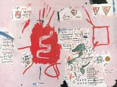 Life Doesn't Frighten Me // Maya Angelou // Jean-Michel Basquiat // Illustration