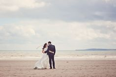 James and Liz's Shabby Chic Glam Wedding with a Trip to the Beach. By Claire Penn