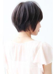 ヘアメイク ミューズ 自由が丘(Hair Make Muse)【MUSE】黄金シルエットで小顔♪ショートレイヤーボブ