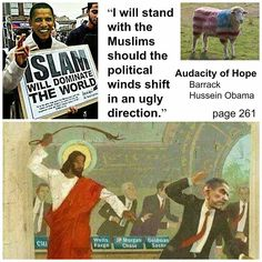 The Communist Manifesto: Obama WILL STAND with MUSLIMS should winds shift.....