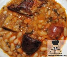 Cocido Montañes (Cantabria) Cocina con Pedro Spanish Kitchen, Spanish Food, Tasty, Yummy Food, Winter Food, Soups And Stews, Food Art, Low Carb Recipes, Food And Drink