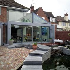 Structural glass extension | Structural glass extension | Extensions & Amenity Buildings | Portfolio