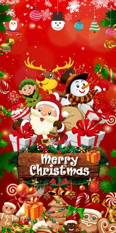 Merry Christmas Wallpaper, Merry Christmas Pictures, Xmas Wallpaper, Christmas Scenery, Purple Christmas, Christmas Art, Best Christmas Wishes, Merry Christmas And Happy New Year, Christmas Greetings