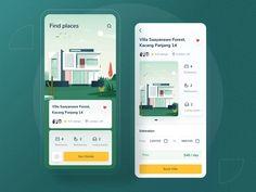 Villa finder app by Riko Sapto Dimo Analytics Dashboard, Dashboard Design, Ui Ux, Ios Design, Mobile Ui Design, Graphic Design, Villa, User Interface Design, Interactive Design