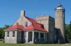 Old Mackinac Point Lighthouse, Mackinaw City, MI