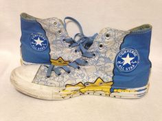 The Simpsons Converse Shoes Men's Size 7 #Converse #Athletic