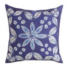 Cojines Decorativos Azules Charmoy IX, juego de 2 unidades http://www.nuryba.com/textiles/cojines-decorativos