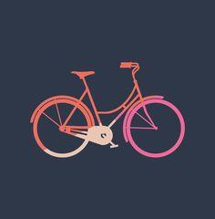 Bike Art Print Bike Poster, Bicycle Art, Bike Style, Cycling Art, Canvas Prints, Art Prints, Green Art, Pretty Art, Picture Frames