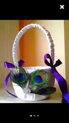 Flower girl baskets x2