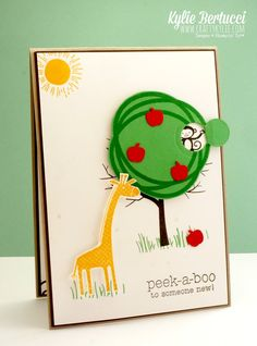 Stampin' Up! Australia: Kylie Bertucci Independent Demonstrator: Memories in the making with Zoo Babies