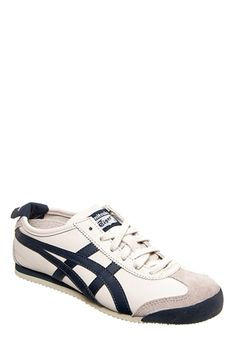 Asics - Unisex Mexico 66 HL202.1659 Sneaker - Birch India Ink Latte at DNA Footwear