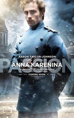 Anna Karenina - Character Poster - Aaron Johnson