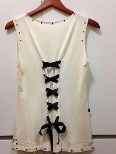 ae714a449 Algumas idéias para customizar camisetas e renovar o seu guarda-roupa sem  gastar nada!