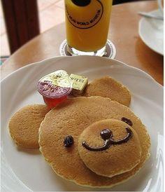 Beary pancake! I'm lovin' it.