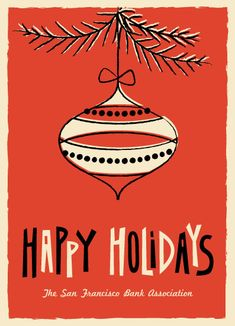 business holiday cards - Holiday Silk by Three Kisses Studio