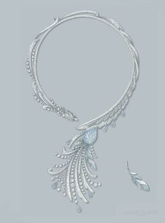 necklace drawing - Google Search
