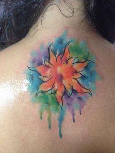 Este tatuaje inspirado en Enredados.