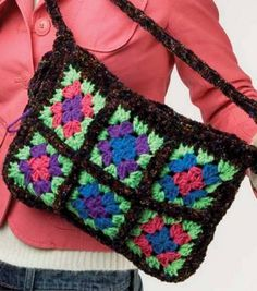 DIY Granny Square Purse