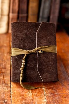 Beautiful handmade leather journal