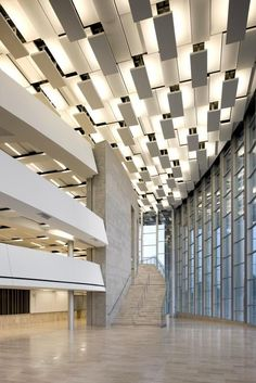 Lobby Interior, Office Interior Design, Office Interiors, Home Interior, Interior Lighting, Lighting Design, Interior And Exterior, Accent Lighting, Stage Lighting