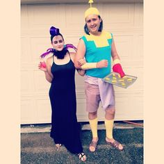 Halloween is about to come and we again collected awesome collection of some delightful Disney couples costumes for Halloween celebrators. I know you all guys were waiting for Halloween. Hallowen Costume, Disney Halloween Costumes, Halloween Kostüm, Cosplay Costumes, Costume Ideas, Halloween Couples, Unique Couple Halloween Costumes, Halloween Office, Costume Makeup
