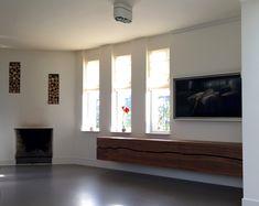 Custom Made Zwevend Dressoir in notenhout Interieurarchitect Tim van Caubergh on. Flying Balloon, Muebles Living, In The Heights, Windows, Home Decor, Seeds, Window, Interior Design, Home Interior Design
