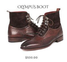 What does your boot selection look like this season?  Get your Olympus hand-painted and couture-level creation at Gimmerton!